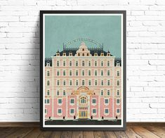 Grand Budapest Hotel vintage Poster Grand Budapest Hotel