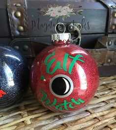 Santa Cam Ornament Santa Spy Camera Christmas by MagnoliaJacks