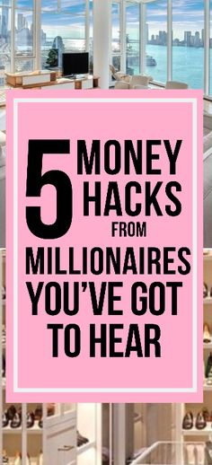 These 5 Millionaires Reveal Their Advice When it Comes to Money - The WERK LIFE - Finance tips, saving money, budgeting planner Ways To Save Money, Money Tips, Money Saving Tips, How To Make Money, Money Hacks, Rich Money, Thing 1, Savings Plan, Budgeting Tips