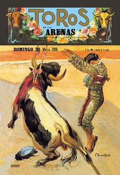 Barcelona: Toros en las Arenas by A. Gual - Art Print  #9785870124049 #Buyenlarge #New #Spain