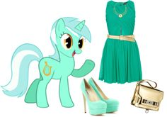 """Little pony"" by valentinajoanna on Polyvore"