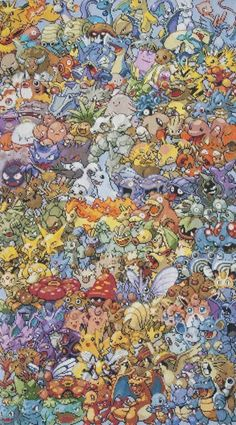 A cross stitch pattern of the original 151 pokemon. For the ultimate pokemon geek. Cool Pokemon Wallpapers, Cute Pokemon Wallpaper, Cross Stitching, Cross Stitch Embroidery, Cross Stitch Patterns, Original 151 Pokemon, Pokemon Cross Stitch, O Pokemon, Crochet Bookmarks