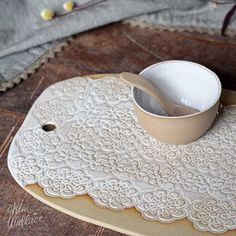 {{ SHOP UPDATE TOMORROW 8pm aest}} .  Finally getting my act together and updating the online shop ~ lots of pieces restocked and I will have a batch of 10 different Vintage Lace serving boards available as well. Each of these is unique so get in quick!  These will go live tomorrow (Thursday) night 8pm AEST.