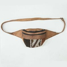 Leather and Kilim Fanny Pack   #sale #shop #gypsy #marrakech #travel #design #boho #bohemian #wanderlust #import #global #fashion #fairtrade #peace #love #yoga #moroccan #energy #morocco #maroc #hippie