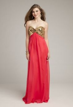 Prom Dresses 2013 - Chiffon Grecian Dress with Open Back from Camille La Vie and Group USA
