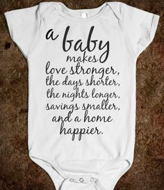 a baby makes....