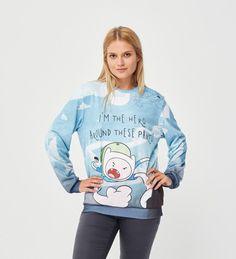 Bluza ze wzorem I'm Hero  Miniatury 2