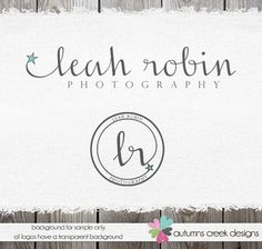 Photography Logo  NEW Premade Logo Initials and by autumnscreek