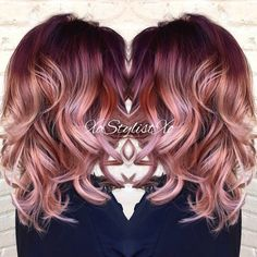 10 stunningly beautiful Rose Gold Hair styles (pin now read later!) 10 stunningly beautiful Rose Gold Hair styles (pin now read later!) Elm Drive Designs The post 10 stunningly beautiful Rose Gold Hair styles (pin now read later!) appeared first on Haar. Cabelo Rose Gold, Rose Gold Hair, Rose Gold Bayalage, Bayalage Red, Gold Hair Dye, Baylage, Hair Color 2017, Hair Color And Cut, Colorful Hair