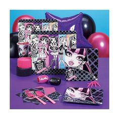 Monster High Party Kit for 8