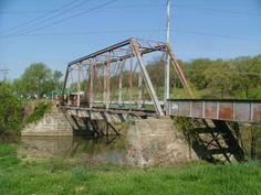 Old Milton Road Bridge near East Alton, IL