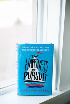 The Happiness of Pursuit - This book represents the culmination of a ten-year odyssey to every country in the world—but it doesn't end there. As I approached the end of the journey, I spent two additional years researching and interviewing other people who have undertaken a quest.  My goal was to tell the stories of those who have done amazing things, extracting their lessons and seeking to understand how the rest of us can apply them.