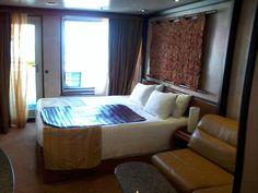 Fantasy Balcony king cabin - Loving this