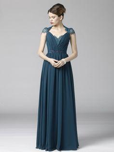 Soft Lace and Chiffon Dress