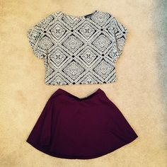 Aztec Top Black and White Aztec Top | Blue Rain | Pink Zipper in Back | Only Worn Once | Size Small Tops Blouses