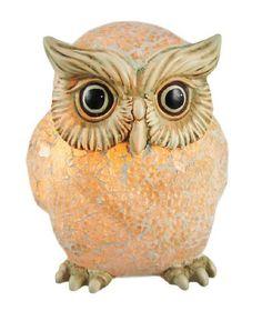 White Crackle Glass Snow Owl Accent Lamp Bird by Things2Die4, http://www.amazon.com/dp/B005G4I05W/ref=cm_sw_r_pi_dp_G9Yysb1W6TJA6