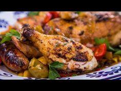 Home & Family - Frank Pellegrino's Grilled Chicken Scarpariello Recipe - YouTube
