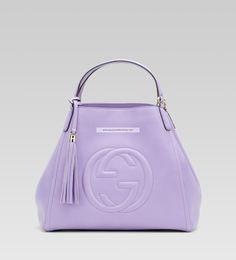 Gucci Soho Medium Shoulder Bag Lilac