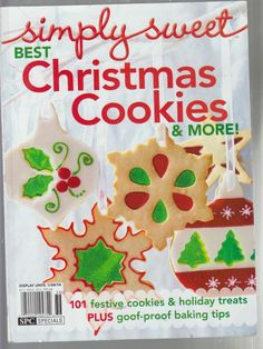 100 best christmas cookies better homes and gardens 2006 Better homes and gardens christmas special