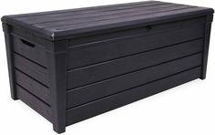 Keter Brightwood Anthracite XL Size 454L Waterproof Garden Storage Bench Box · $119.95
