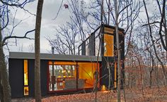 Stacked Cabin. Johnsen Schmaling Architects. Wisconsin.