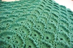 Crochet Baby Blanket Turquoise Baby Blanket Baby by BambinoStore
