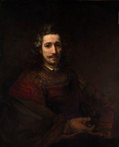 Человек с увеличительным стеклом. Харменс ван Рейн Рембрандт