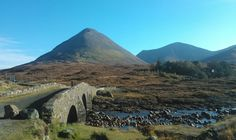 Sligachan, Isle of Skye, Scotland  Tour with John, Oct. 2012