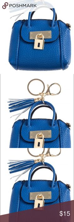 """Pebbled faux leather mini purse Approximately 3.75""""•4.25"""" synthetic leather ❌❌ price is firm ❌❌💞💞💞💞💞💞💞zipper closure Accessories Key & Card Holders"""