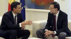 Rajoy se reúne este lunes con Pedro Sánchez y Albert Rivera para analizar la situación en Catalunya