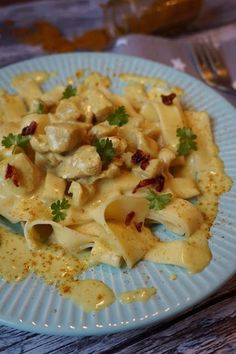Pyry na Gaz: Kurczak curry w 15 minut Polish Recipes, Polish Food, Pasta Salad, Feta, Potato Salad, Macaroni And Cheese, Chicken Recipes, Curry, Food And Drink