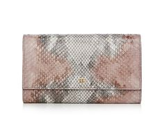 TF LOGO PYTHON WALLET WITH CHAIN SHOULDER STRAP