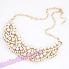 2013 30styles Fashion Gothic Vintage Women Bubble Bib Party Statement Necklace | eBay