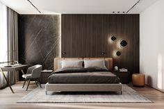 Modern Luxury Bedroom, Modern Master Bedroom, Modern Bedroom Design, Home Room Design, Master Bedroom Design, Luxury Home Decor, Luxurious Bedrooms, Apartment Interior, Apartment Design