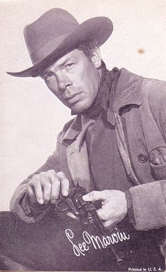 HANGMAN'S KNOT (1952) - Randolph Scott - Donna Reed - Lee Marvin (pictured) - Directed by Andre deToth - Columbia Pictures - Publicity Still. Music Film, Art Music, I Movie, Movie Stars, The Iceman Cometh, Suits You Sir, Lee Marvin, Donna Reed, Actors Images