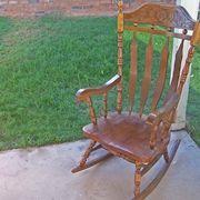 how to make rocking chair tie cushions chair ties nursery inspiration ...
