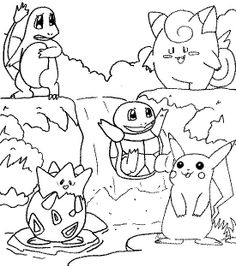 pokemonkleurplaten diverse pokemons httpwwwpokemon kleurplaatnl - Coloring Or Colouring