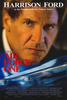Air Force One (1997) Russian terrorists conspire to hijack Air Force One with the president and his family on board, forcing the commander-in-chief into an impossible predicament: give in to the terrorists and save his family, or risk everything to uphold his principles. Harrison Ford, Gary Oldman, Glenn Close...1