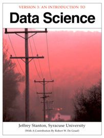 Introduction to Data Science | http://paperloveanddreams.com/book/529088127/introduction-to-data-science | Introduction to Data Science, by Jeffrey Stanton, provides non-technical readers with a gentle introduction to essential concepts and activities of data science. For more technical readers, the book provides explanations and code for a range of interesting applications using the open source R language for statistical computing and graphics. The book is suitable for an introductory…
