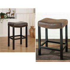 Renate Coffee Counter Stools Set Of 2 Coffee Counter