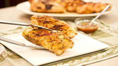 Tutorial - Grilled Bone-In Chicken Breasts with Chipotle-Orange Glaze ...