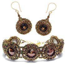 Bejeweled Bracelet and Earrings Pattern