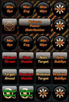 A second powergrid for Elite Dangerous covering system and targeting commands