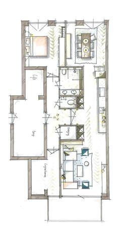Interieurontwerp nieuwbouwproject Mijn Grachtenpand Amsterdam | Meubelbar