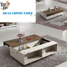 Glass Top High Gloss White Wooden Touch Screen Coffee Table - Buy Touch Screen Coffee Table,High Gloss White Coffee Table,Glass Coffee Table Product on Alibaba.com