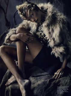 Tribal Fur - Numéro Magazine Editorial