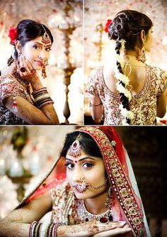 Beautiful Indian Bride #traditions #wedding #jewelry