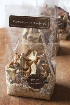 Idea per regalini di Natale #3: preparato per risotto ai funghi homemade ©
