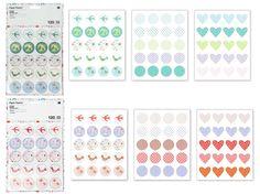 Stickers Paper Poetry Romantic Flower. Parfait pour les adeptes de la customisation ou du Home Déco.120 autocollants ronds de 30 mm de diamètre (15 motifs différents). Planches de papier épais, autocollants prédécoupés. A partir de 3,20€ >>> http://www.perlesandco.com/Stickers_Paper_Poetry_Romantic_Flower_30_mm_Rose_x120-p-75050.html >>> http://www.perlesandco.com/Stickers_Paper_Poetry_Romantic_Flower_30_mm_BleuVert_x120-p-75049.html