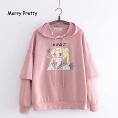 Sailor Moon Kawaii Hoodies sold by KoKo Fashion. Shop more products from KoKo Fashion on Storenvy, the home of independent small businesses all over the world. Sailor Moon Outfit, Sailor Moon Clothes, Cute Hoodie, Kawaii Hoodie, Comics Girls, T 4, Hoodies, Sweatshirts, Pretty Woman